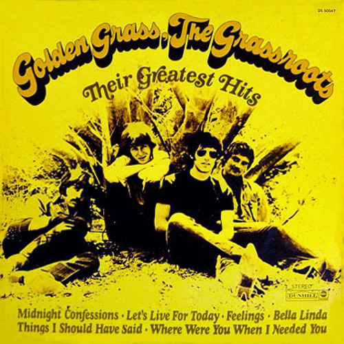 """""""Things I Should Have Said"""" - The Grass Roots (vinyl)"""