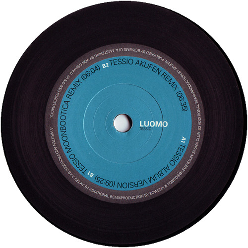 LUOMO - Tessio (moonbootica rmx)