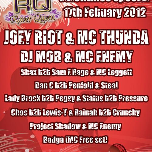 DJ Shax & MC Thunda b2b Rainah - RaverQueen Residents Promo