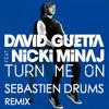 David Guetta Feat Nicki Minaj Turn Me On Sebastien Drums Rmx Mp3