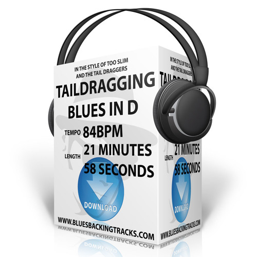 Too-Slim-Taildragging-Blues-Backing-Track-In-D-84bpm-1-Minute-Sample