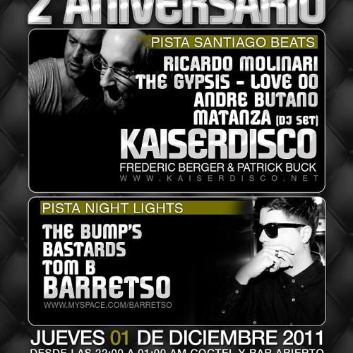 Kaiserdisco - 01.12.2011 Santiago Beats - Santiago de Chile (Chile)