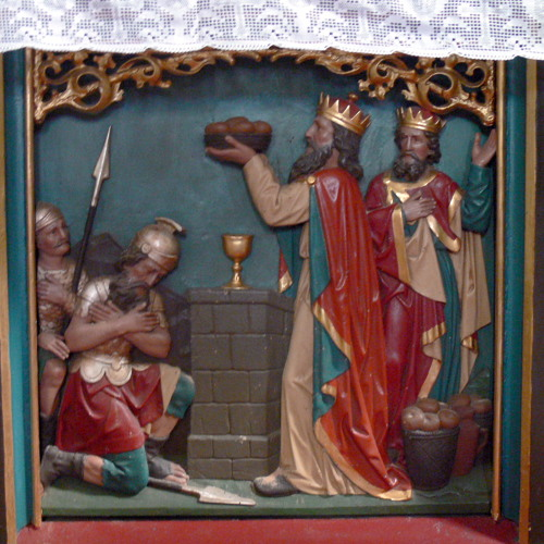 Melchizedek (You have saved the good wine for last)