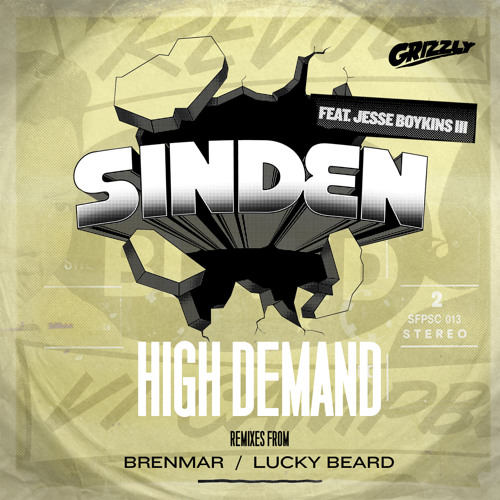 Sinden - HIGH DEMAND feat. Jesse Boykins III