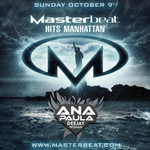 PODCAST MASTER BEAT NEW YORK DJ ANA PAULA