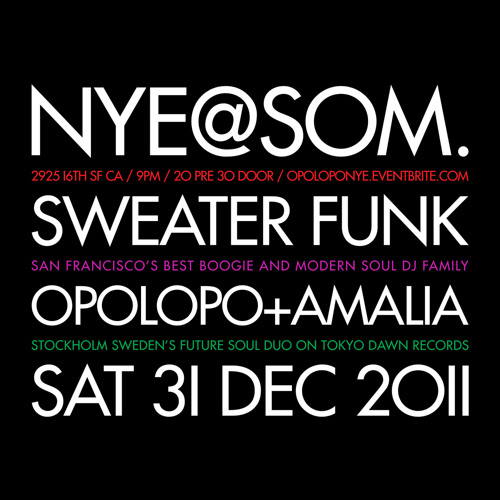 SWEATER FUNK NYE 2012 MIX