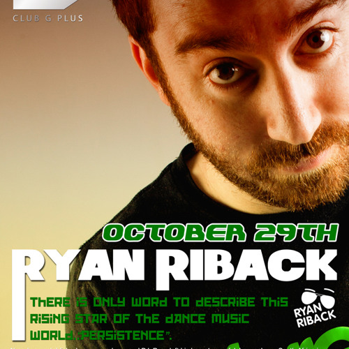 Ryan Riback Live @ G+ Shanghai, China 29-10-11
