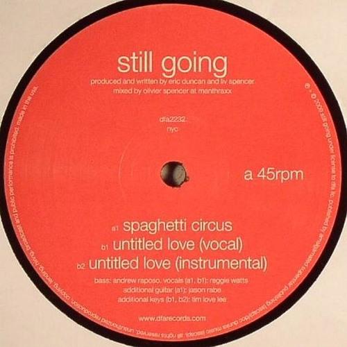 "Still Going ""Untitled Love"" (DFA Records)"
