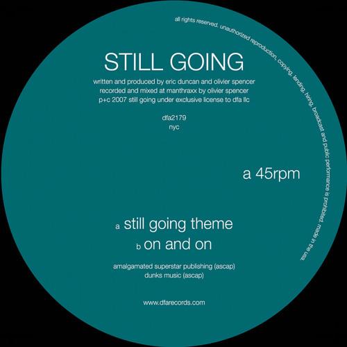 "Still Going ""Still Going Theme"" (DFA Records)"