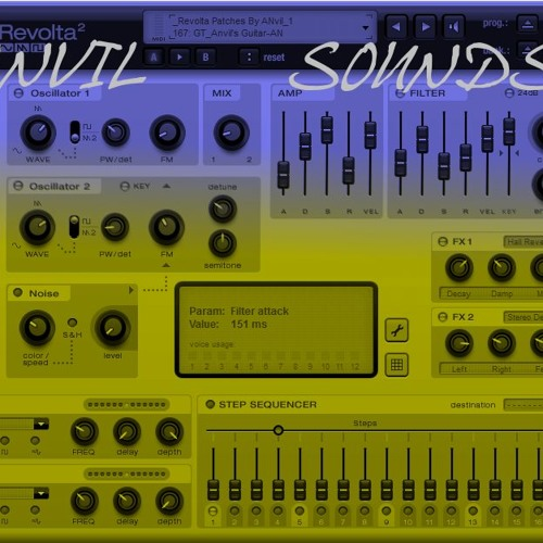 Trance Single 140 bpm Anvil Soundset - Magix Revolta² Sounddemo