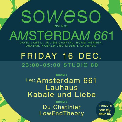 Kabale und Liebe & Lauhaus SOWESO LABELNIGHT 16-12-2011  CLOSING