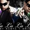 Baby rasta y Gringo - Lalalala - DeeJay Alan Portada del disco