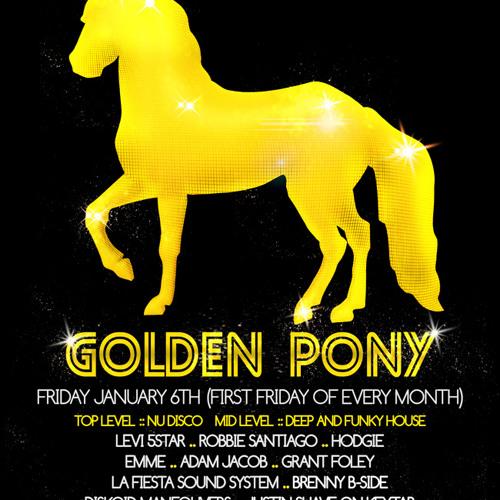 Levi 5Star - Nu Disco Frisco Part 2 - Golden Pony mix