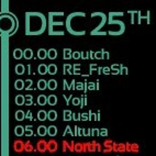 North State - EOYC 2011 on AH.FM (2011.12.25. 06:00AM CET)