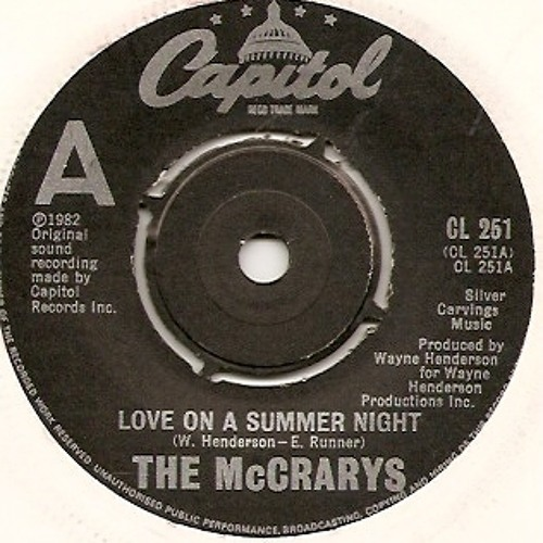 The McCrarys - 'Love On A Summer Night' (Andy Kidd Extended Love Edit)
