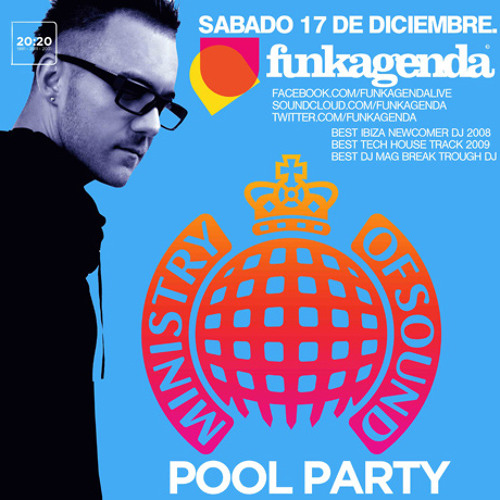 Funkagenda Live @ Ministry Of Sound Pool Party - Club Nuvo - Panama City - Panama - Dec 17th 2011