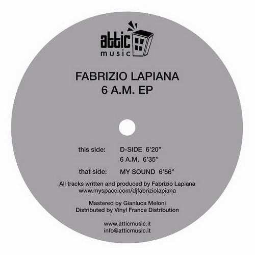 Attic Music 002 - Fabrizio Lapiana - My Sound