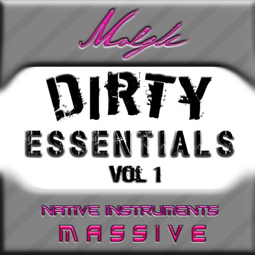 Molgli's Dirty Essentials NI Massive Soundbank Demo