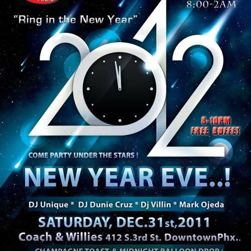 New Years Eve 2012, 3 Minute Countdown