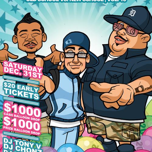 Old School Vol. 10 DJ Chonz + DJ Dizzy-D + Tony V