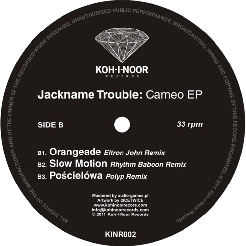 KINR002 Jackname Trouble - Pościelówa (Liquid Molly Remix)