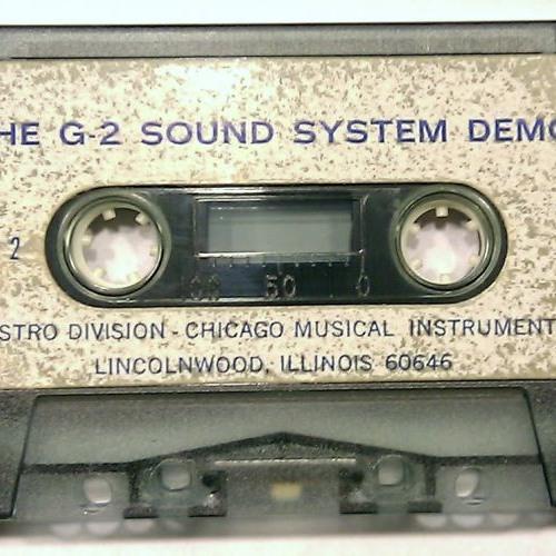 Maestro G-2 Rhythm 'N Sound For Guitar demonstration tape