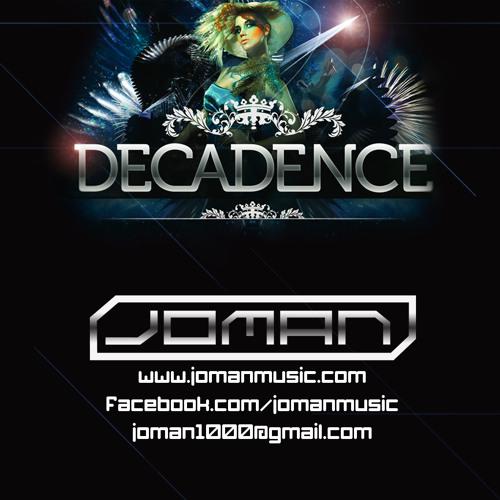 Joman Live at Decadence NYE 2012