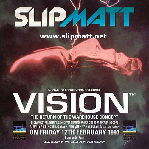 Slipmatt - Live @ Vision (The Warehouse Concept Part 1) 12-02-1993
