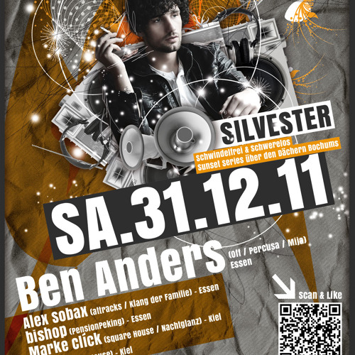 Ben Anders @ Sunset Series - Apartment45 (31.12.2011)