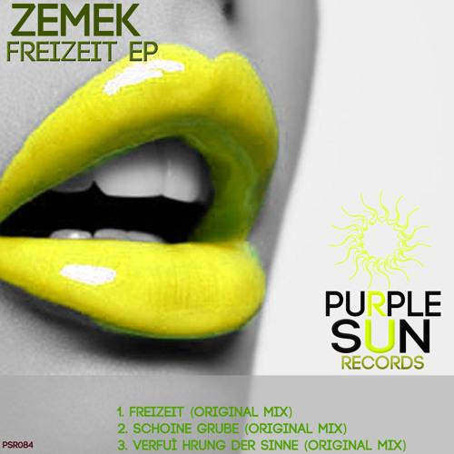 Zemek - Freizeit EP [PSR084]