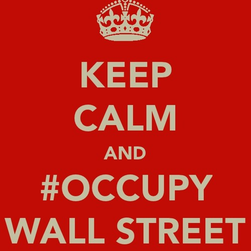 Keep Calm and Take to the Streets