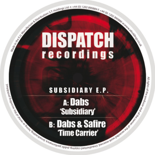 Dabs & Safire - Time Carrier - Dispatch 052 (CLIP) - OUT NOW