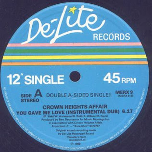 Crown Heights Affair-You Gave Me Love (Frank Agrario edit)