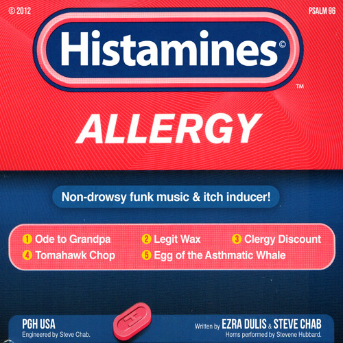 Egg of the Asthmatic Whale by Histamines
