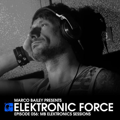Elektronic Force Podcast 056 - MB Elektronics Sessions with Marco Bailey