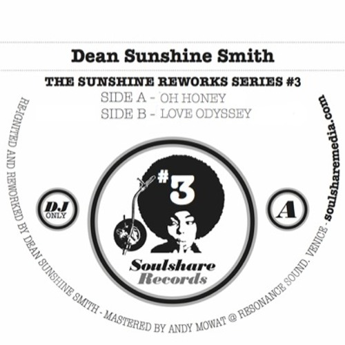 SUNSHINE REWORKS 3 - A.OH HONEY - DIGITAL WAV/320 and LTD 12""