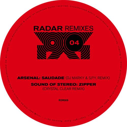Arsenal: Saudade (DJ Marky & S.P.Y. remix) RDR005A (clip)