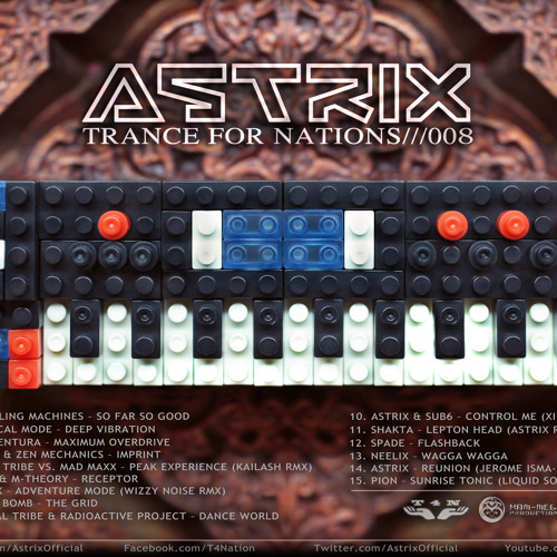 Astrix-Trance For Nations///008 (Download link: http://tiny.cc/30peq )