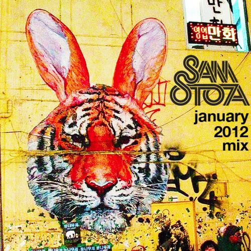 SAM STOA - JANUARY MIX - 2012 - [ TECH HOUSE ]