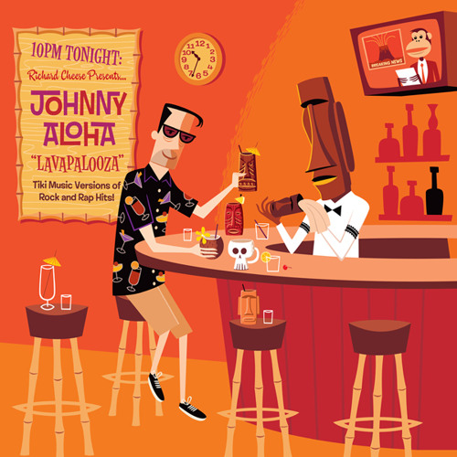"""California Gurls"" by Johnny Aloha (produced by Richard Cheese)"