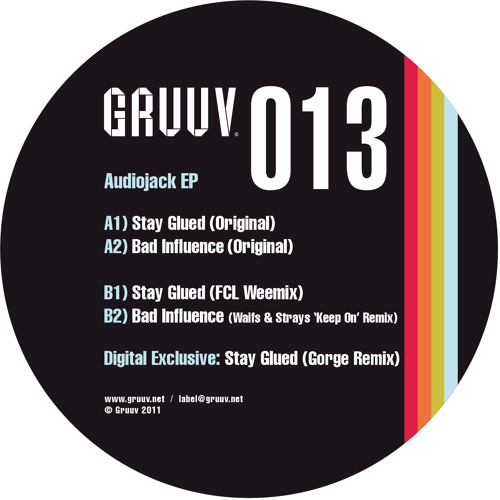 Gruuv 013 EP: Audiojack, FCL, Waifs & Strays and Gorge