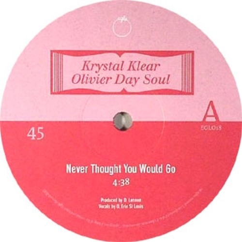 Never Thought You Would Go feat .Olivier Day Soul