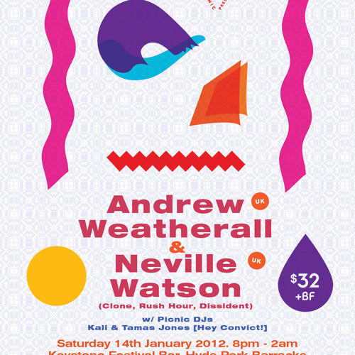 Andrew Weatherall OZ Promo Mix Jan 2012