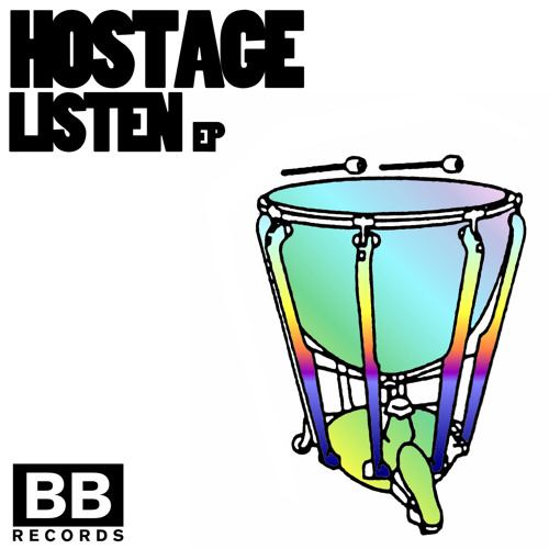 """Hostage - """"No Bitch Equal"""" (Black Butter #20) - Out Jan 23rd"""
