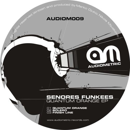 Senores Funkees - Finish Line ( Original Mix ) - AUDIOMETRIC RECORDS -