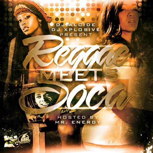 REGGAE MEETS SOCA MIXTAPE CD 1 (DJ ALCIDE)