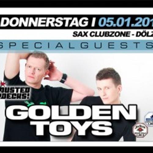 Golden Toys - DJ Set @ SAX ClubZone, Dölzig (05. Jan 2012)