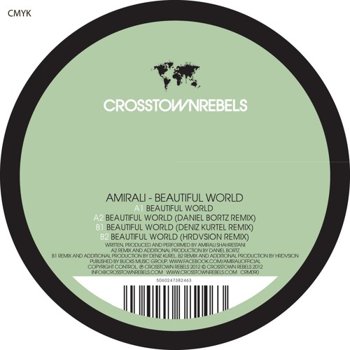 CRM090 AMIRALI - BEAUTIFUL WORLD (DANIEL BORTZ REMIX)