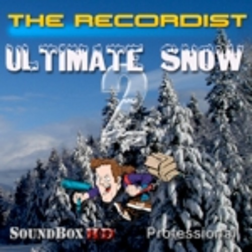 Ultimate Snow 2 SFX Library