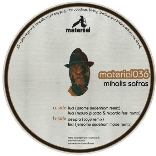 [Material Series] Mihalis Safras - Deepia (Coyu Remix) Snippet